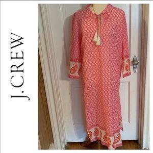 NWT J. Crew Caftan Maxi Dress.   Size Medium